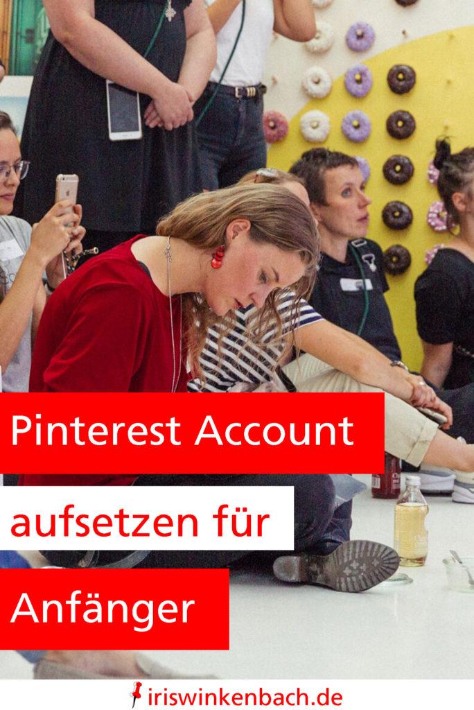 Damit du einfach schnell deinen Account erstellen kannst, habe ich ein YouTube Video zu folgendem Thema abgedreht: Pinterest Account aufsetzen für Anfänger.