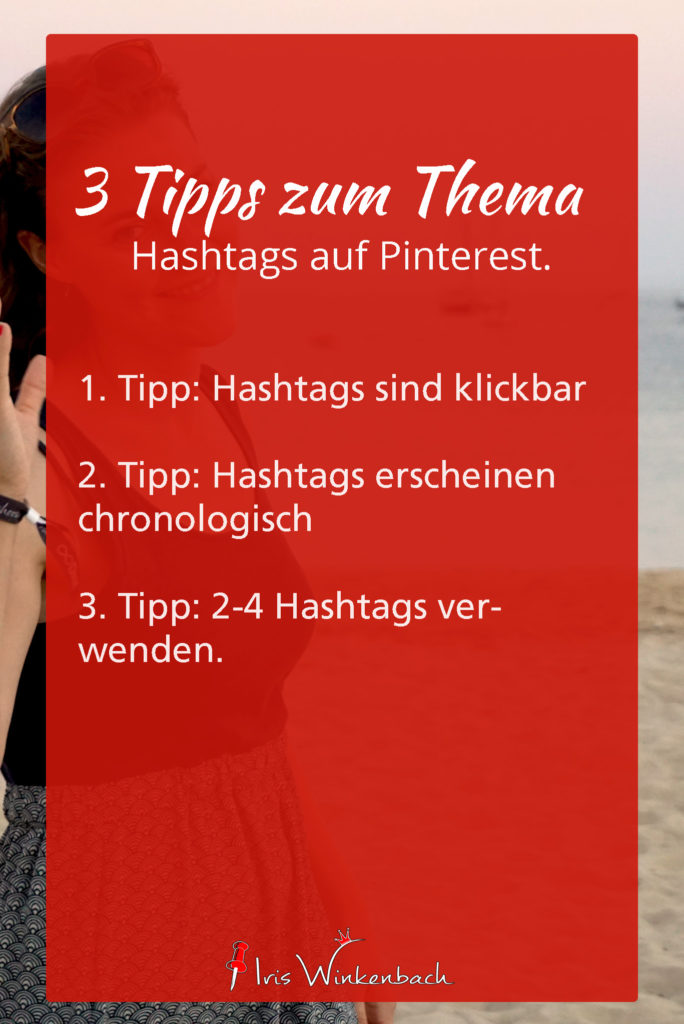 Hashtags auf Pinterest verwenden