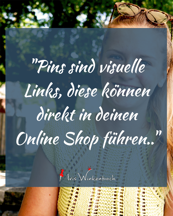Pinterest für Online Shops mit Klaudia Wichmann