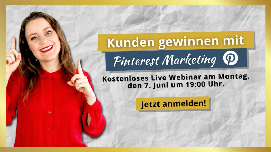 Mit Pinterest Kunden gewinnen Webinar